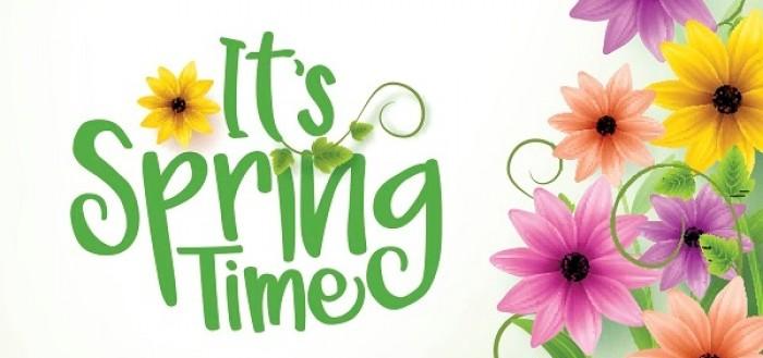 grib foråret og få gang i markedsførigen